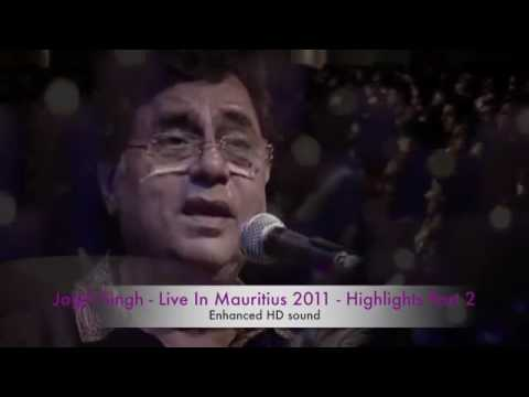 Jagjit Singh Live In Mauritius Part 2 Selected highlights with stereo HD sound