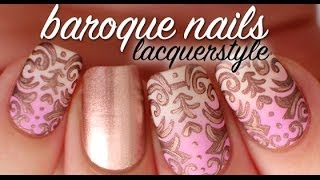 Baroque Nail Art Tutorial | Lacquerstyle