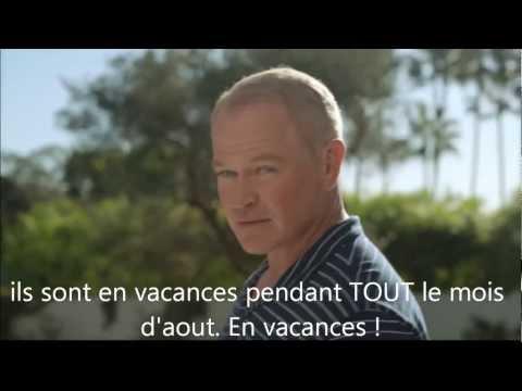 Cadillac Pool side publicité traduite en français
