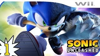 Sonic Unleashed Wii Walkthrough PARTE 1