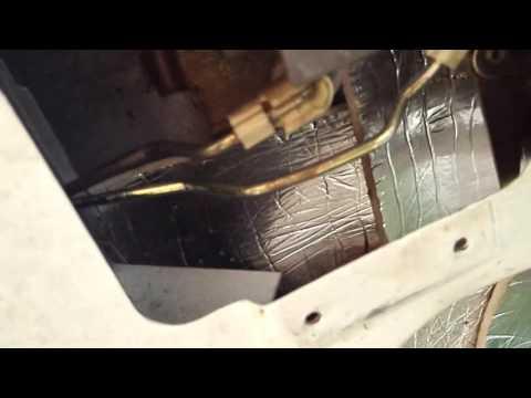 Ремонт привода замка багажника универсал Форд Мондео.