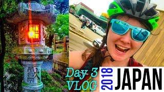 JAPAN VLOG DAY 3 - Shimanami Kaido BEST Japan cycling, Vegan Food convenient stores, Relive , DJI Dr