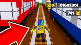 He Made SUBWAY SURFERS in ROBLOX..