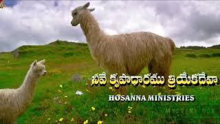 Download hosanna new year song 2020॥ కృపాధారము - Krupadharamu || 2020 HOSANNA MINISTRIES NEW YEAR SONG
