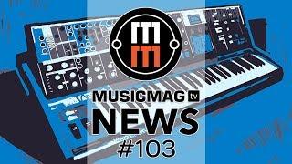 MUSICMAG TV NEWS #103: Moog One, новая эра MIDI, рисуем VST плагины и др.