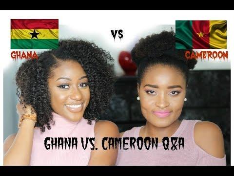 Ghana VS. Cameroon ft. Bernice Pezuzu | MUST WATCH |
