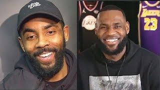 Kyrie Irving Gets Shocked By LeBron James' 2019 NBA All-Star Team Selection & Is Excited!