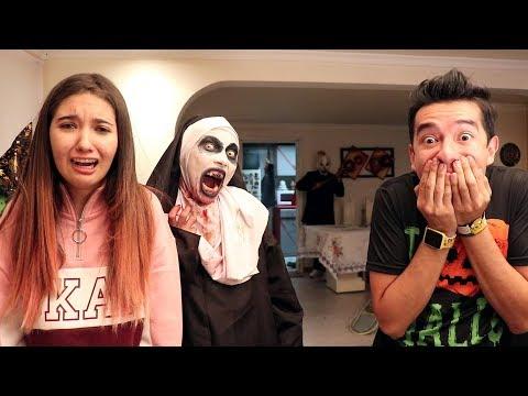 Broma a AMARA con LA MONJA de TERROR y PAYASO - Ami Rodriguez