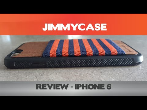 JimmyCases Review - iPhone 6 Wallet cases