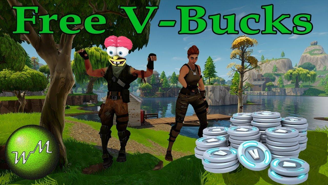 Hack To Get Free V Bucks In Fortnite Battle Royale Youtube