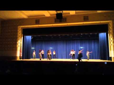High School of fashion industries variety show 2012