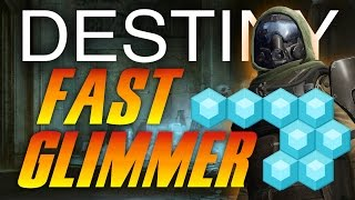 Destiny - How To Get Glimmer FAST! - Destiny Best Glimmer  Farming Spot