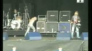 Nirvana - School (Live at Reading 1991)