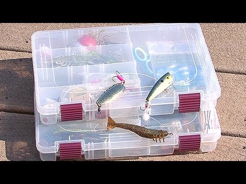 Saltwater Tackle Box Basics - YouTube
