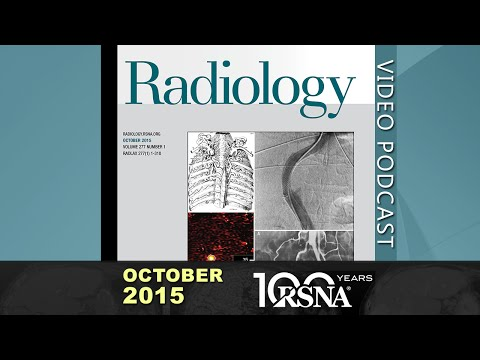 October 2015 Radiology Podcast (2 discussions)