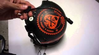 como instalar un intercomunicador sena smh5 en un casco