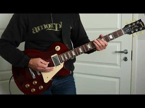 Amorphis - Hopeless Days (Guitar Cover)