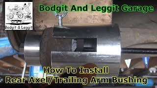 How To Install Opel/Vauxhall Astra Rear Axle/Trailing Arm Bushings  Bodgit And Leggit Garage