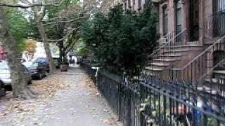 Walking Down Vanderbilt Avenue In Brooklyn