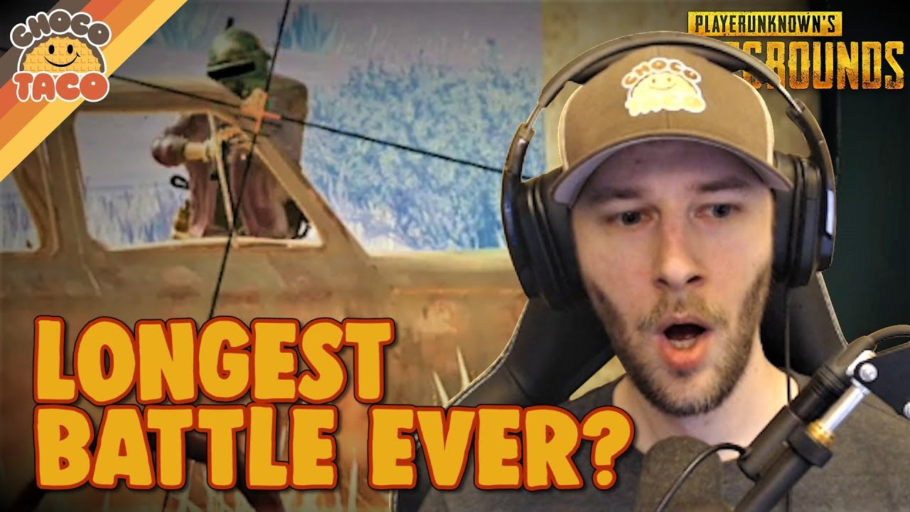 Some Stupidly Long Battling - chocoTaco PUBG Gameplay