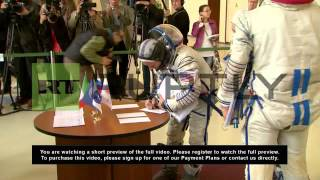 Russia: Future space travellers probed before blast-off
