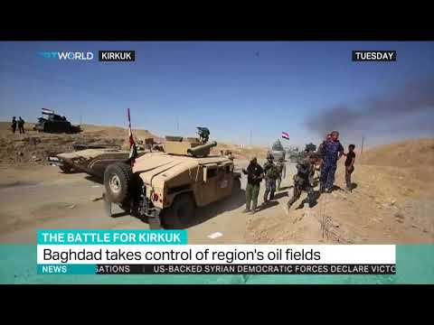 Federal forces, allies enter areas of Nineveh province in N Iraq