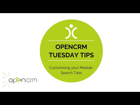 #TuesdayTip - Customising your Module Search Tabs