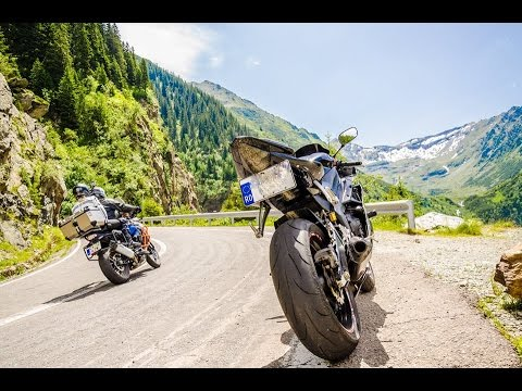Riding on the best road in the World - Transfagarasan 4K