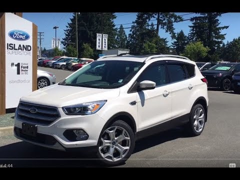 2017 Ford Escape Anium Technology Canadian Touring Ecoboost Awd Review Island