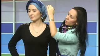 Как красиво завязать платок на голову (тюрбан-чалму)(Имидж-студия Гульназ Абдуллиной