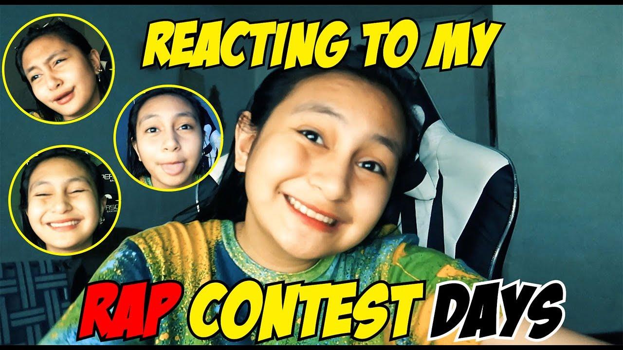 REACTING TO MY RAP CONTEST DAYS | PRINCESS THEA