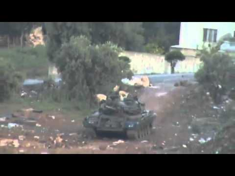 25-04-2011 Dara - Syrian Arab Republic ...... Syrian army enters the city of Dara.(5).flv
