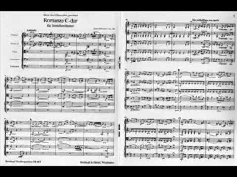 Jean Sibelius, 'Romanze in C' op. 42 for string orchestra