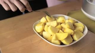 Хрустящая картошка в микроволновке(Получилось очень домашнее видео про то, как приготовить картошку в микроволновке. Приятного просмотра...., 2013-10-05T05:08:44.000Z)