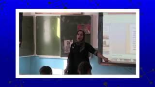 Урок истории в 7 классе. Учительница Бахмудова Забидат А.