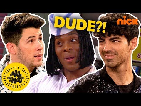 Jonas Brothers Find Their New Sound At Good Burger! 🍔 Ft. Kel Mitchell   All That