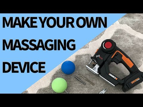 How to Make Your Own Variable-Speed, Professional Grade Percussion Massaging Tool
