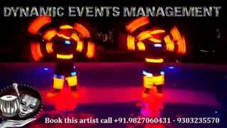 International Artist, Dancers, Acts, Musicians, Chandelier, Fountain, Hostess Available in India