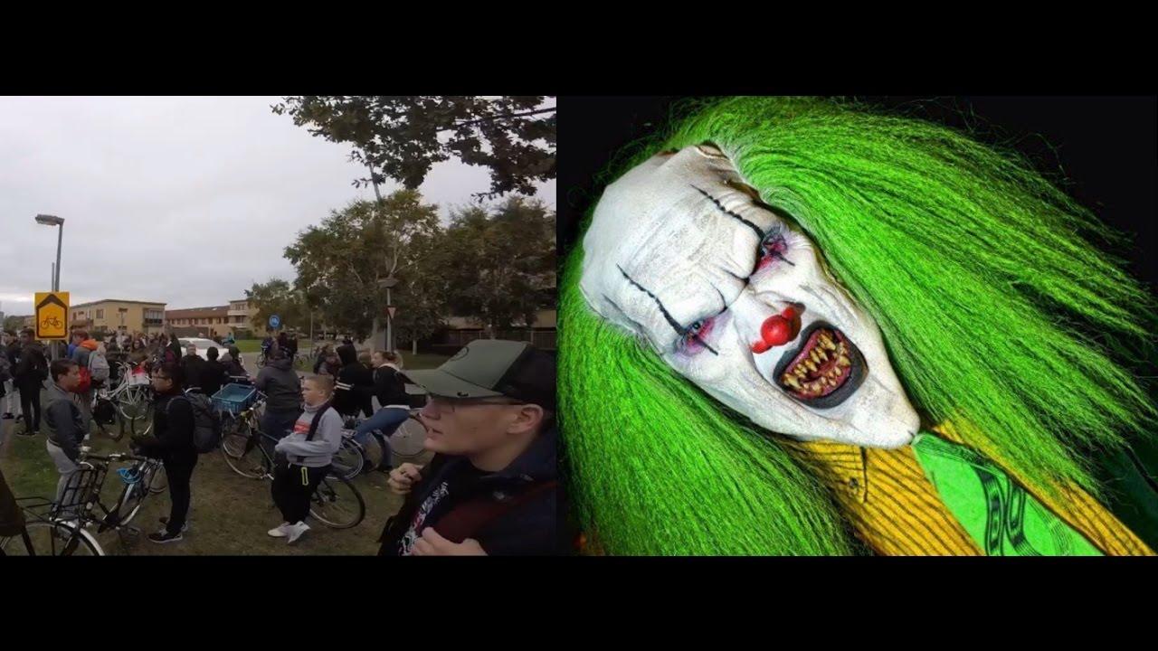 Chaos in almere tussen de vaarten noord door killer for Clown almere