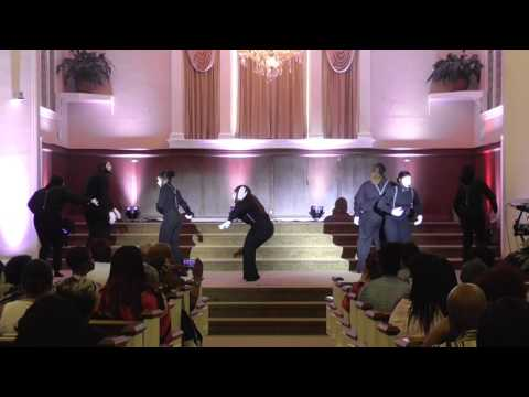 Sinking by Tye Tribbett & G A - Third New Hope Silent Praise Mime