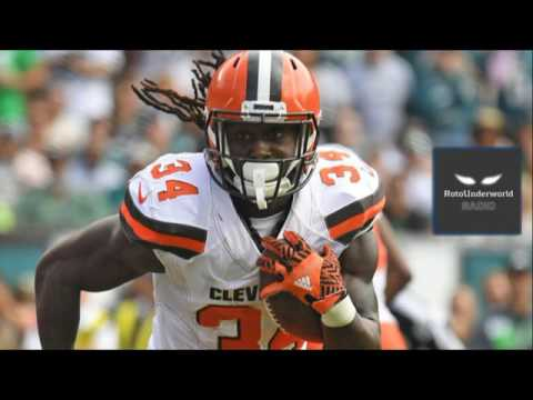 Isaiah Crowell's fantasy football stock is gathering momentum even though he's on the Browns