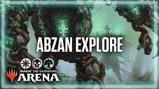 GRN Meta Deck - Abzan Explore EPIC GAME | MTG:Arena Standard