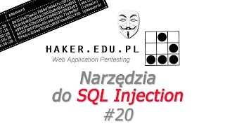 #20 SQLMAP i jSQL tutorial - narzędzia do SQL Injection w Kali Linux