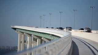Biloxi Bay Bridge Construction Time-lapse