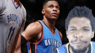100% PROOF WHY WESTBROOK IS MVP! THUNDER vs NETS HIGHLIGHTS REACTION!