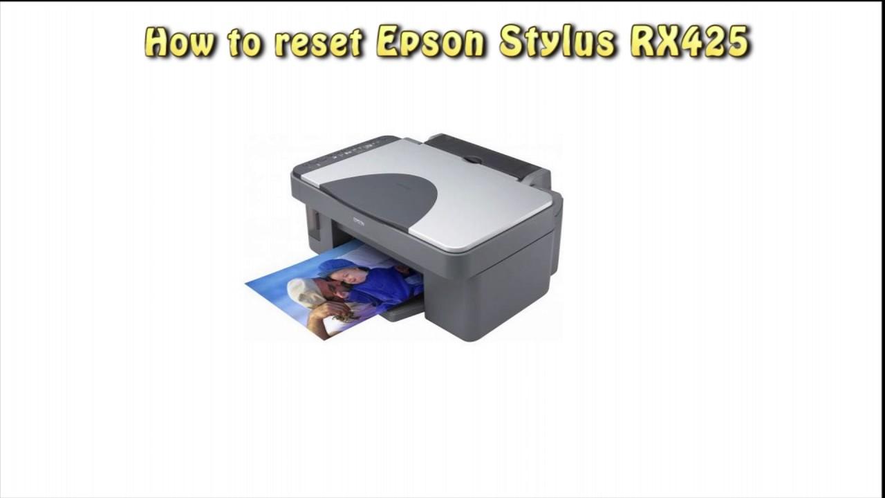 EPSON STYLUS PHOTO RX425 WINDOWS 10 DRIVER