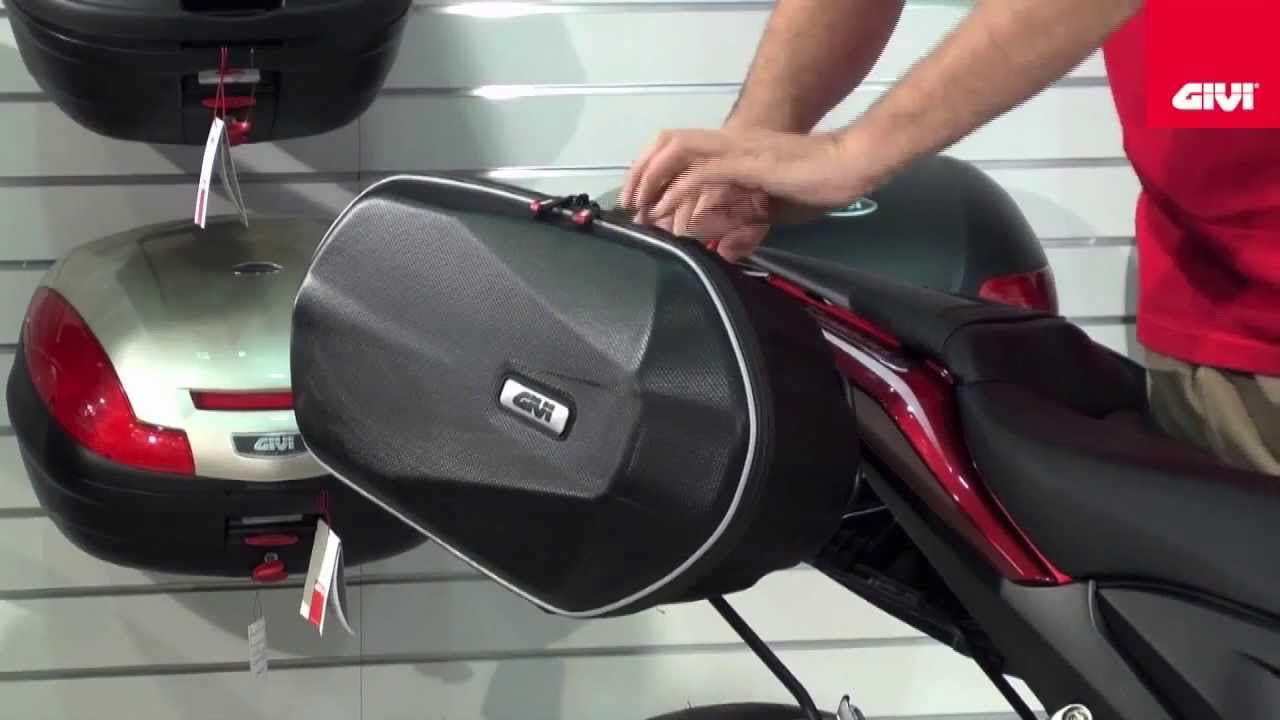 Givi 3D600 Easylock Panniers GhostBikescom YouTube