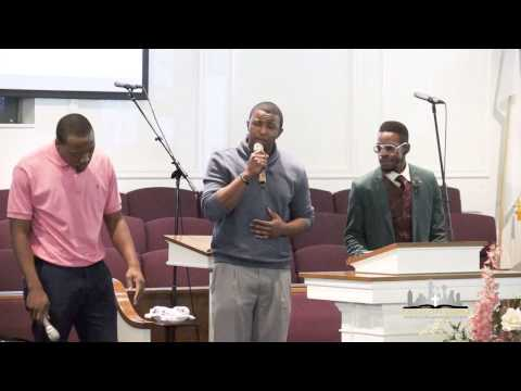 """""""Standing In The Need Of Prayer"""" Alex Horton, Gary Edwards III, Justin White, December 6, 2014"""