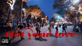 [DANCE IN PUBLIC - DARK VER] Dirtyphonics x RIOT - Got Your Love Dance cover by CetB Crew | 1 TAKE |
