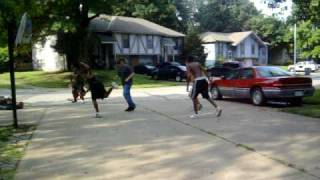 Streetball lead to fight...